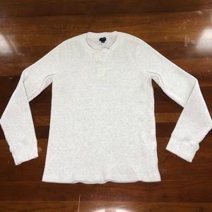 J. Crew Henley long sleeve shirt